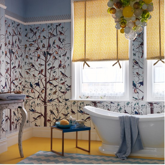 Bird-Mural-Bathroom-Homes-and-Gardens-Housetohome